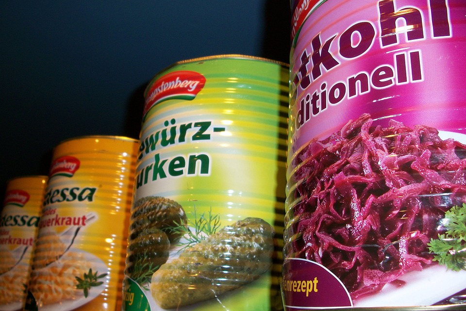Cnned foods
