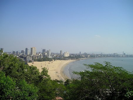 India, Mumbai, Bombay, City, Skyline
