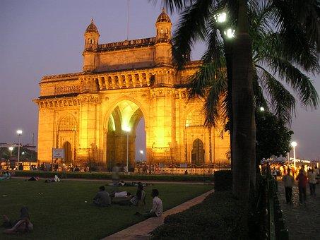 India, Mumbai, Bombay, Goal, Building