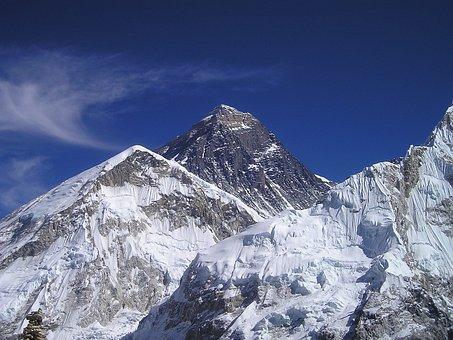 Mont Everest, Himalaya, Népal, Gerbirge