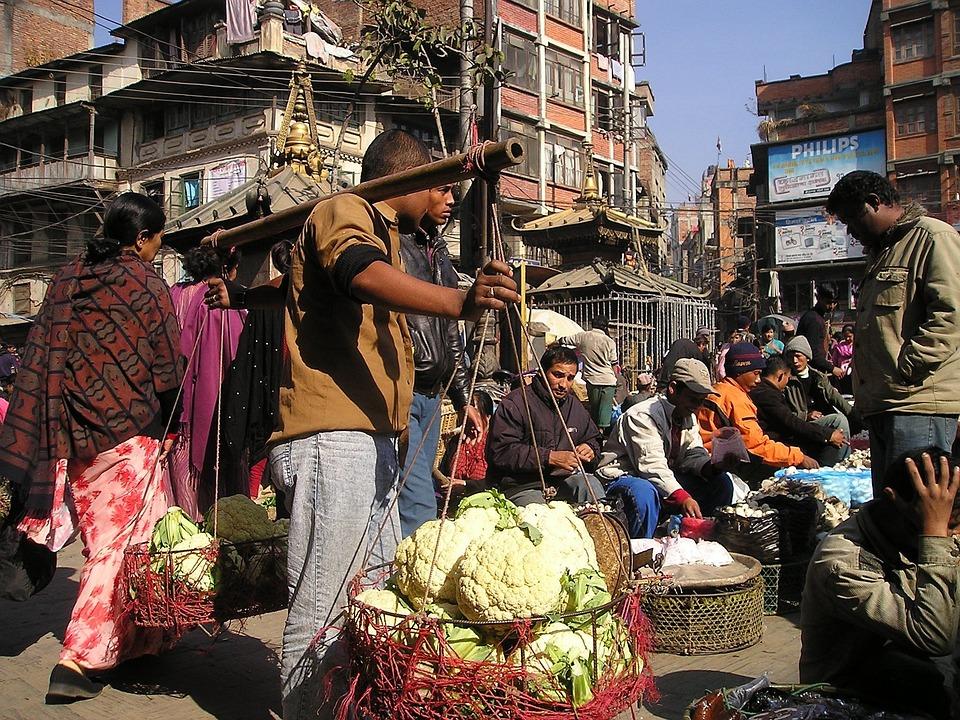 Népal Marché De La Rue Fruit · Photo gratuite sur Pixabay