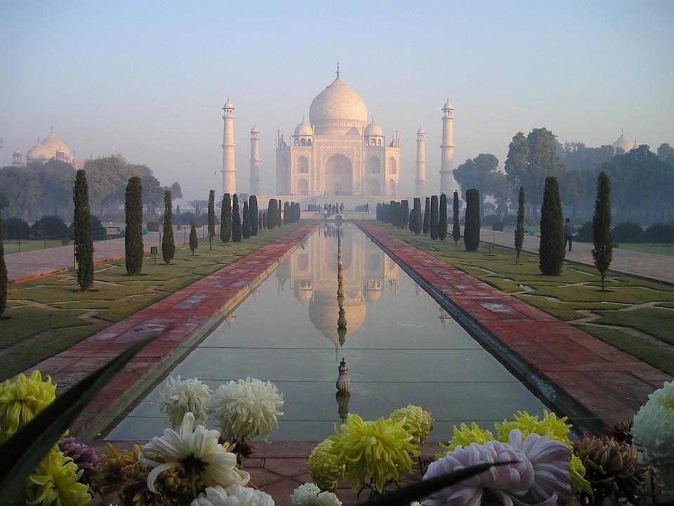 Taj Mahal, L'Inde, Agra, Temple, Tombeau, Graves