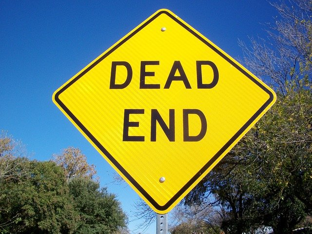free photo: dead end, street sign, road - free image on pixabay - 777