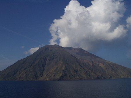 Stromboli, Vulcano, Vulcanismo, Caldo