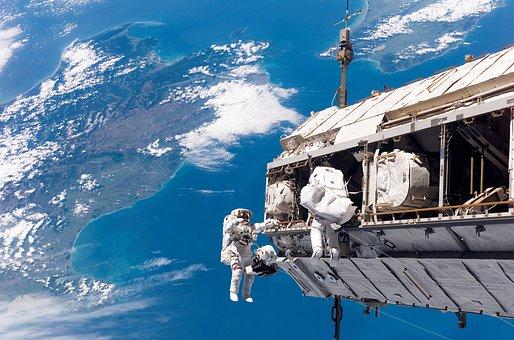 Выход В Открытый Космос, Астронавт, Nasa