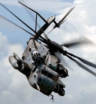 Helicopter, Army, Military, War, Fight