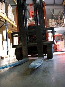 Forklift, Fork, Forks, Warehouse, Retail