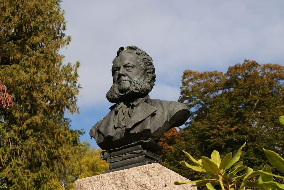 Statue, Henrik, Ibsen, Poet, Playwright