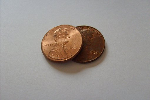 Penny, Cent, Lincoln, Money, Coins, Coin
