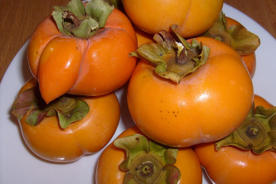 persimmons fruit healthy food fruits