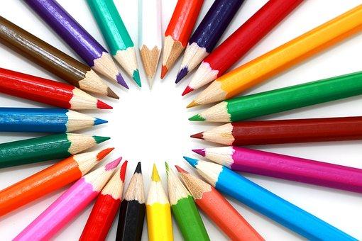 Artistiques, Lumineux, Couleur, Coloré