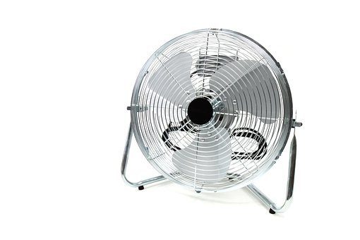 Air Blade Blowing Chrome Cool Electric Fan