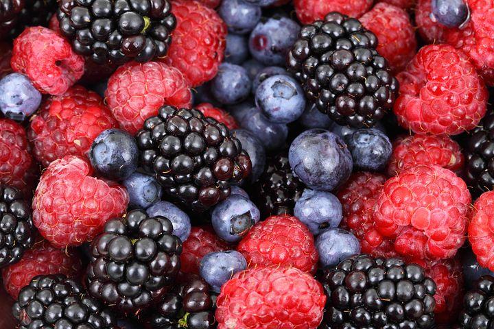 Berries, Fruits, Food, Blackberries