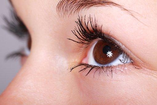 Woman, Beauty, Eyelashes, Eye, Makeup,Blinking Eyes