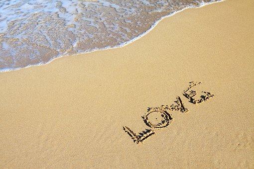Background, Beach, Coast, Love