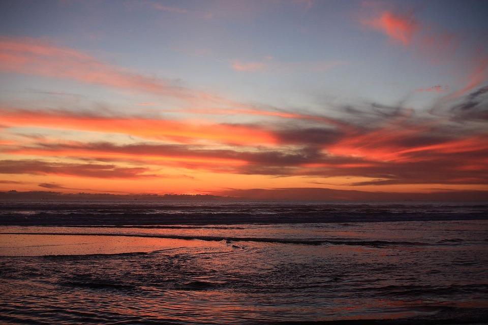 Sunset Beach California Ocean West Coast Pacific