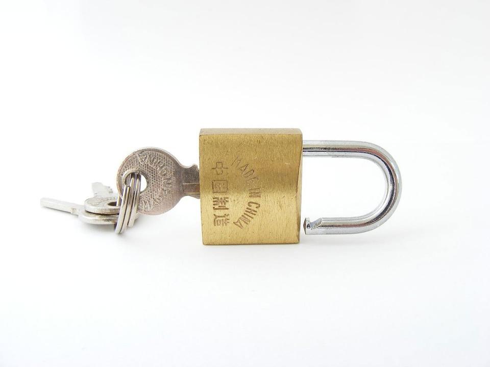Gold Lock Key 183 Free Photo On Pixabay