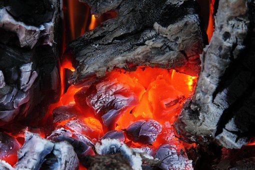 Ash, Burn, Campfire, Charcoal, Coal