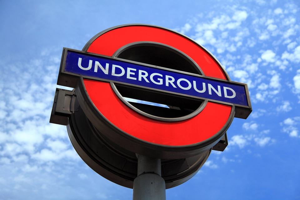 Hauptstadt, England, Berühmt, London, U Bahn, Anmelden