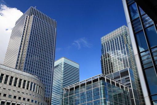 アーキテクチャ, 青, 建物, ビジネス, 市, 建設, 企業, 不動産