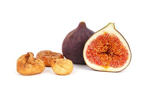 Dried, Cut, Diet, Fig, Food, Fresh