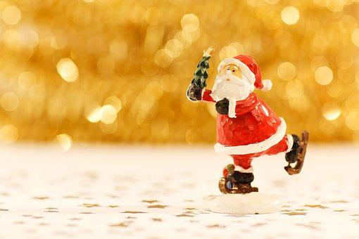 Santa Claus, Christmas, Beard