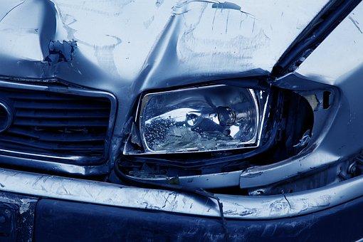 Headlamp, Accident, Auto, Blue, Broken, Pre-Existing Medical Condition
