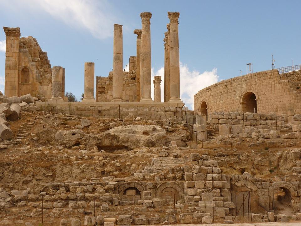 Храм Артемиды, Гераса, Джераш, Иордания, Праздник