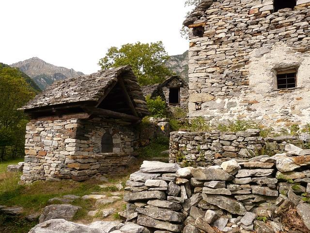 Foto gratis rustico casa de piedra imagen gratis en - Casa in rustico ...
