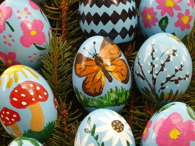 Paskalya Yumurtası Easter Boya Pixabayde ücretsiz Fotoğraf