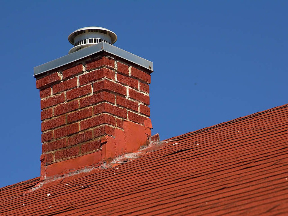 Chimney, Fireplace, House, Roof, Building, Architecture