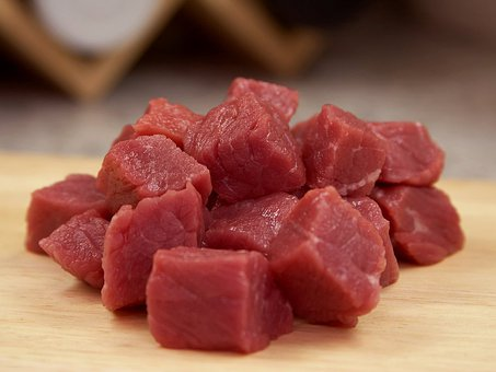 Carne De Vacuno, Raw, Ingrediente, Carne
