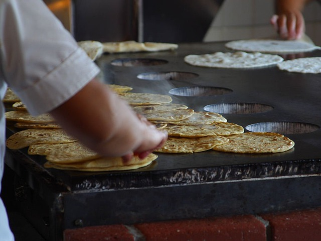 Free photo crepes pancake stove hot free image on - Cuisine mexicaine tortillas ...