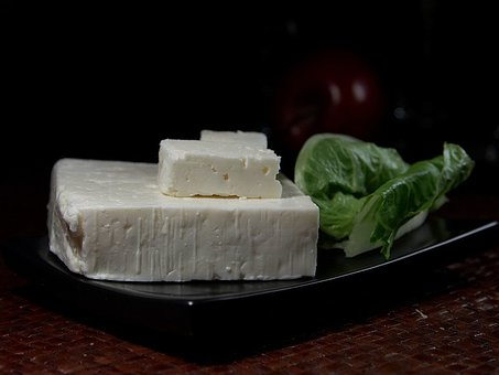 Greek Feta Cheese Feta Milk Product Food I