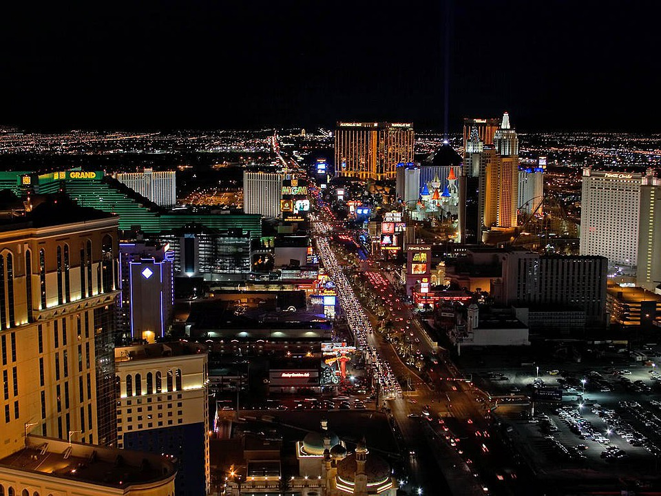 Las Vegas Night Lights · Free Photo On Pixabay