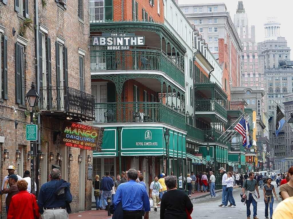 New Orleans Walking Street