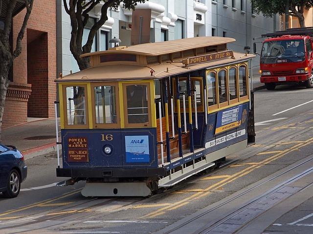 San Francisco Cable Car Seating