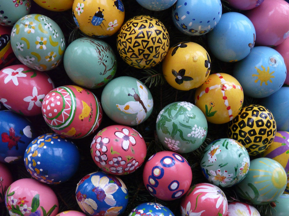 Photo gratuite p ques oeufs de p ques color image gratuite sur pixabay 3954 - Peinture oeufs de paques ...
