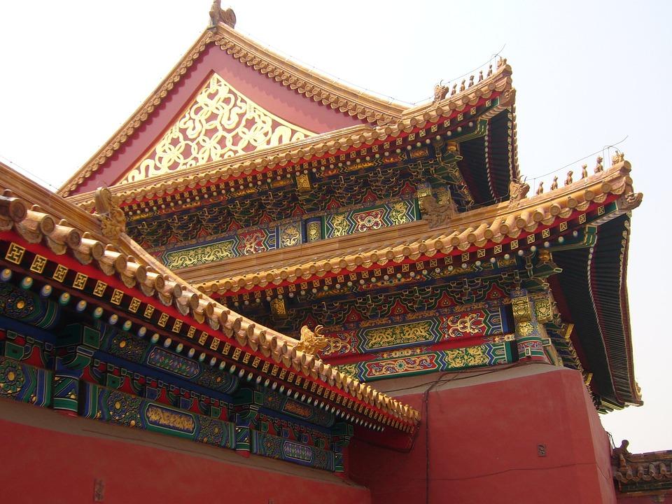 China, House, Roof, Beijing, Forbidden City