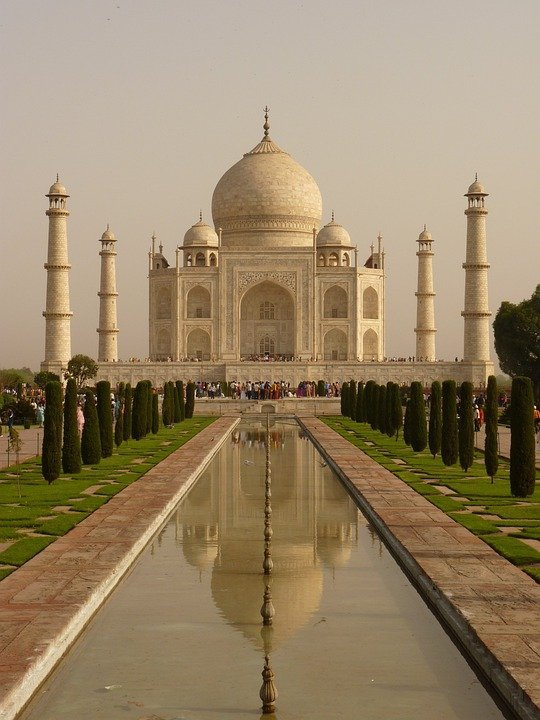 Free Photo Taj Mahal Mausoleum Agra Free Image On