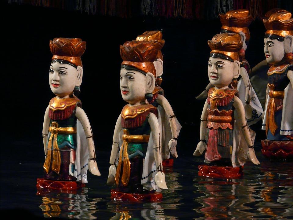 Water Puppet, Vietnam, Hanoi