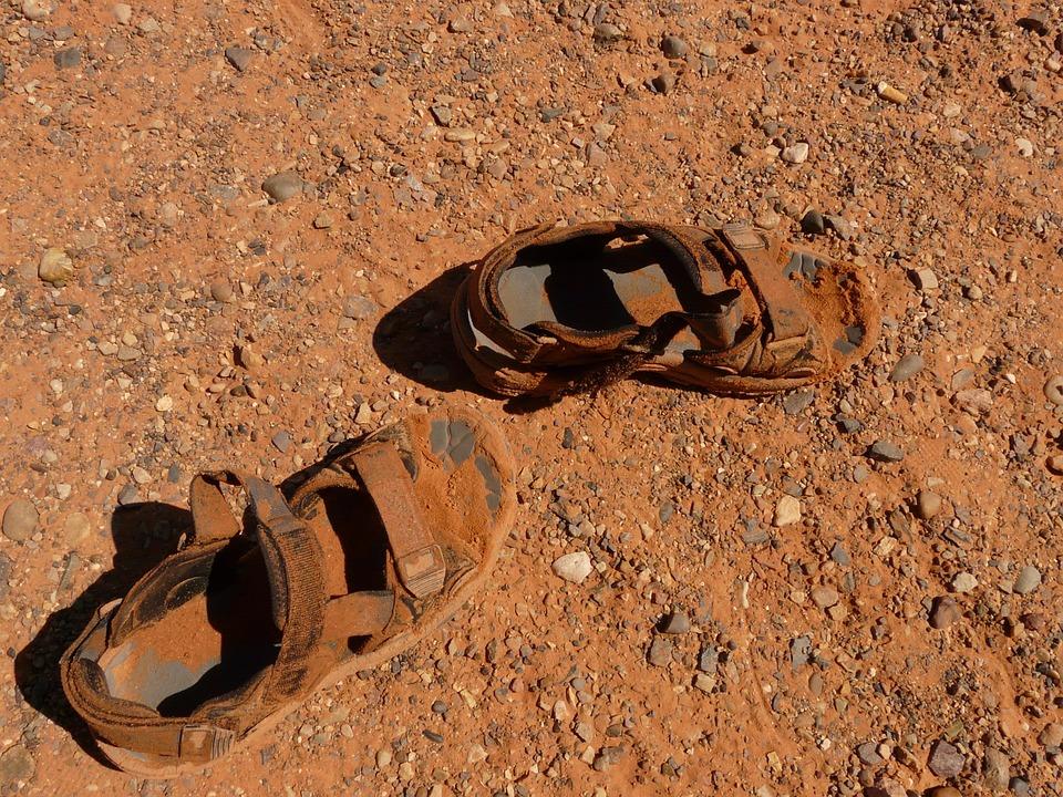 Walking Shoes Pretty Feet