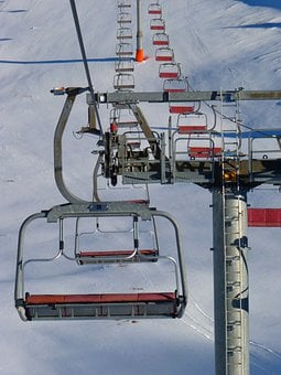 Sessellift, Lift, Skifahren, Gondel
