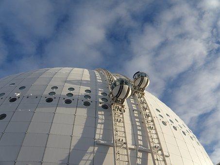 Curiosidades de Estocolmo, Ericsson Globe, Stockholm Globe Arena