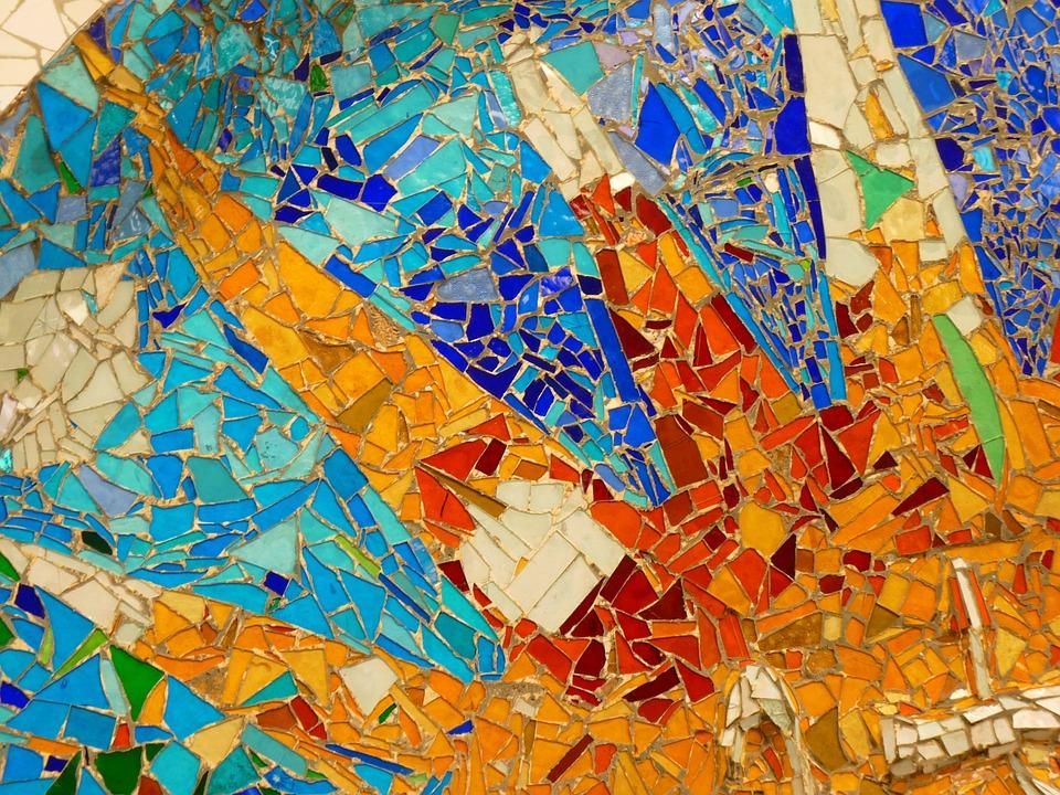 Мозаика своими руками в стиле гауди
