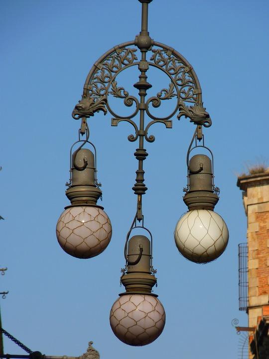 Jugendstil Beleuchtung   Lampe Beleuchtung Jugendstil Kostenloses Foto Auf Pixabay
