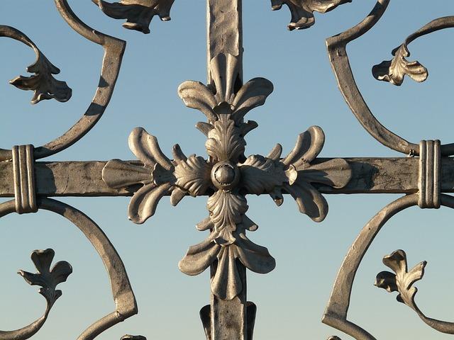 Cross Iron Grid · Free Photo On Pixabay