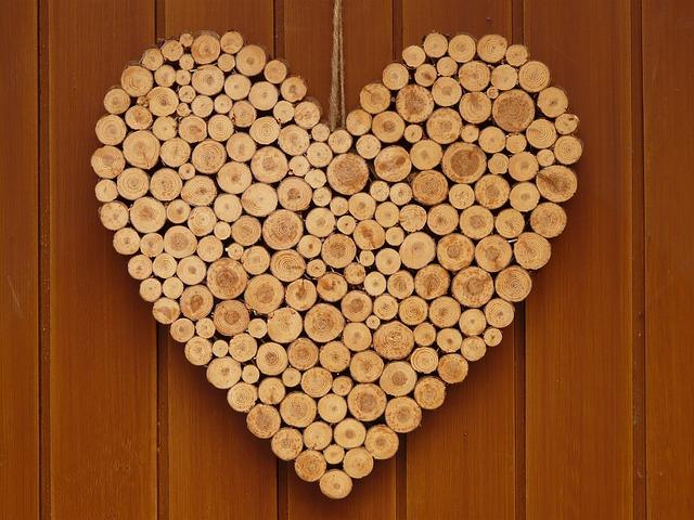 Free Photo: Heart, Love, Wooden Heart, Symbol