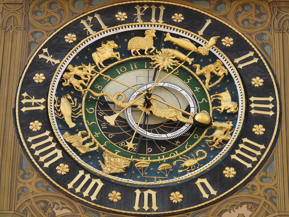 นาฬิกาดาราศาสตร์, นาฬิกา, เวลา, ช่วงเวลาของวัน, วัน