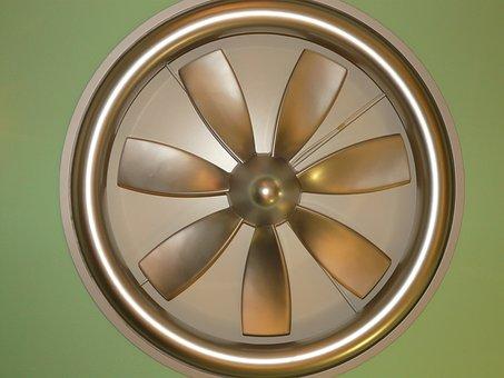 Fan, Ceiling Fan, Technology, Propeller